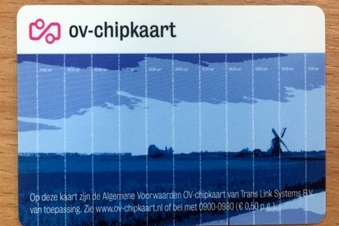 OV - chipkaart to be converted from smart card to ID - based system