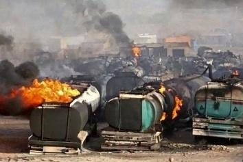 مقام دولت افغانستان:  آتشسوزی اسلام قلعه تلفات جانی نداشت+ پنج فیلم از حادثه