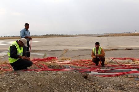 بهسازی سیستم روشنایی سطوح پروازی فرودگاه ارومیه