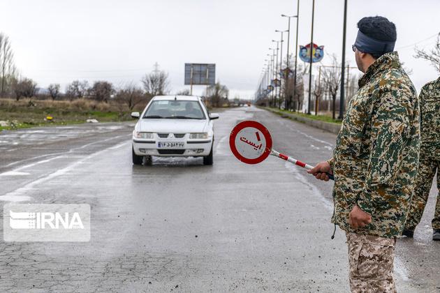 انسداد ۵ جاده و ممنوعیت تردد کامیون در محور هراز