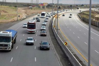 محدودیت ترافیکی جادهها در تعطیلات پایان هفته اعلام شد