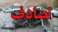 سقوط خودرو به درهای در جاده آتشگاه