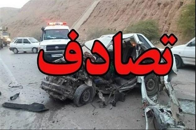 ۸ کشته و دو مجروح بر اثر حادثه رانندگی در جنوب سیستان و بلوچستان