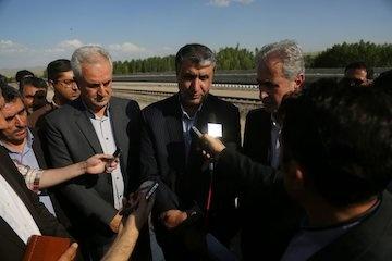 ریلگذاری راه آهن بستان آباد- میانه در مراحل آخر قرار دارد