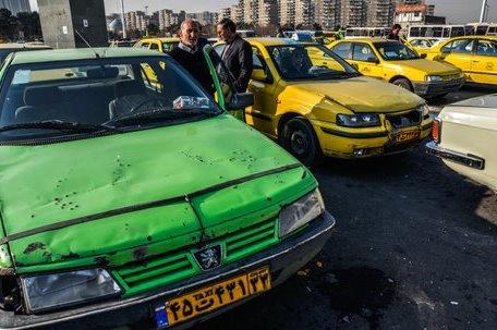 نوسازی تاکسیهای فرسوده متوقف شد