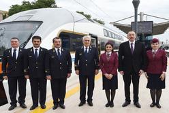 Baku suburban railway phase one launched