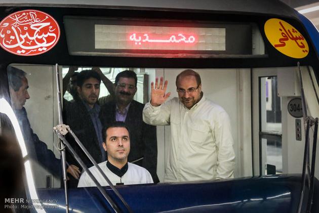 افتتاح ناقص متروی خط ۷ با ۲۷ ماه تاخیر / باز هم افتتاح زودهنگام در شهرداری تهران