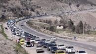 ترافیک در جادههای خروجی از مرزهای چهارگانه پرحجم و روان است