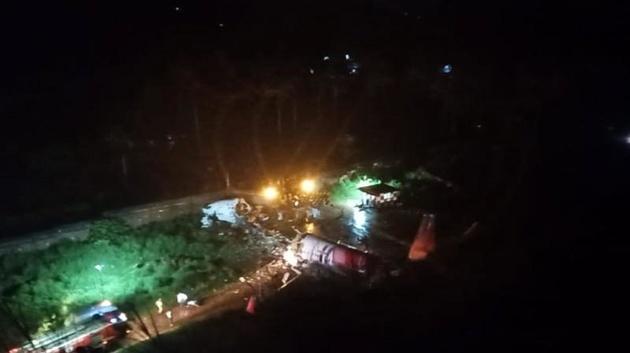 فیلم  نخستین تصاویر از سانحه هواپیمای هند