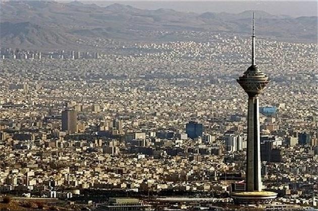برج میلاد آبی می شود