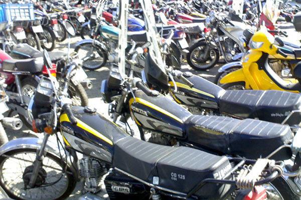 تخلیه موتورسیکلتهای رسوبی از پارکینگها تا پایان تابستان