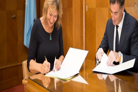 Agreements on TIR digitalisation signed today with the UN