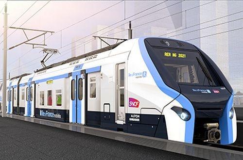 Paris RER New Generation train design unveiled