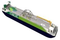 Titan LNG's Bunker Barge Delivers 1st LNG