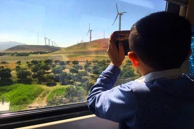 اولین قطار گردشگری در مسیر رویایی رشت