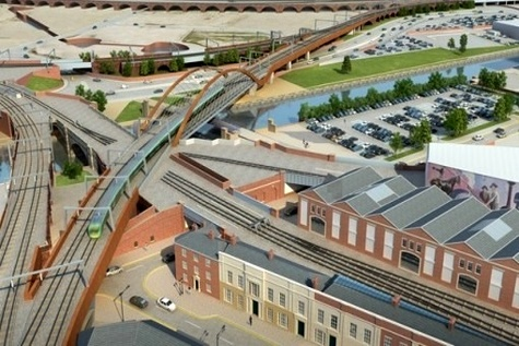 UK's Network Rail starts Ordsall Chord foundation works