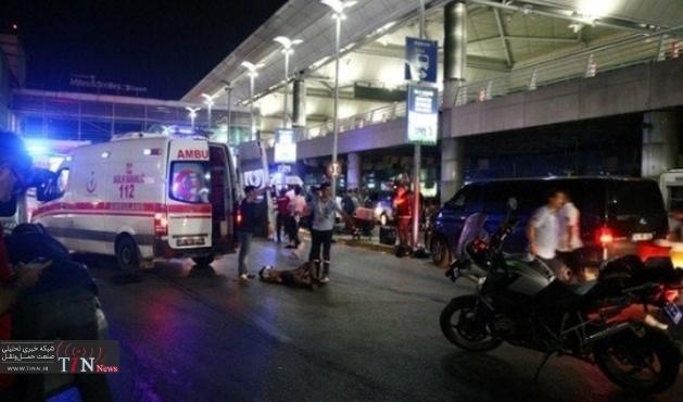 ۳۶ کشته در انفجار فرودگاه آتاتورک / ایلدیریم به استانبول رفت
