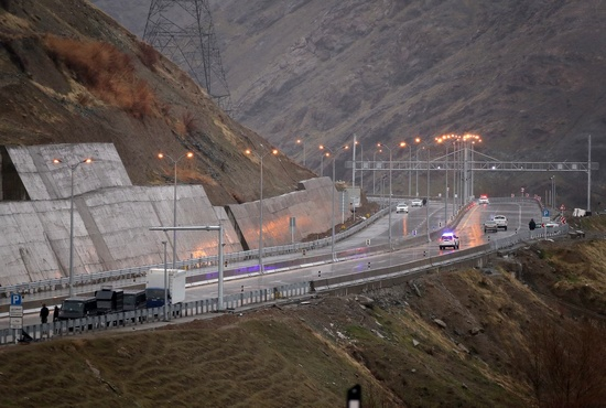 تصاویر| افتتاح آزادراه تهران-شمال با حضور روحانی