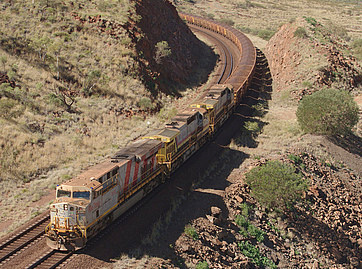 Driverless heavy haul train completes first iron ore delivery