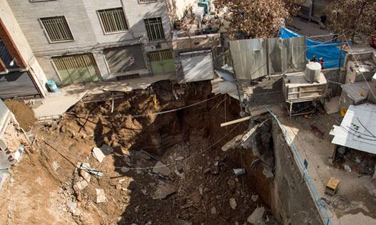 تهران سالانه حدود ۵ میلیمتر فرونشست دارد