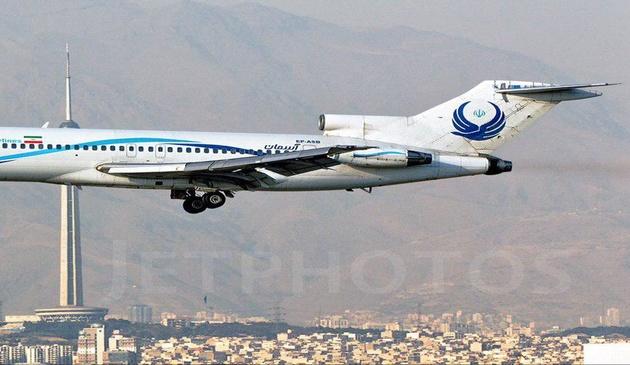 هواپیمای 727 از ناوگان آسمان خداحافظی میکند
