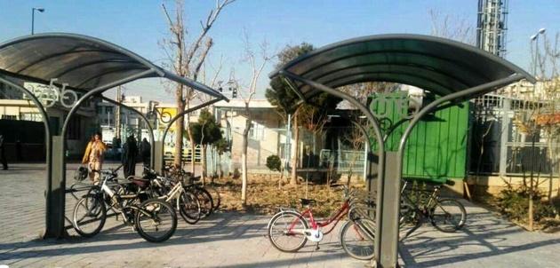 آغاز احداث پارکینگهای مسقف دوچرخه در شهر