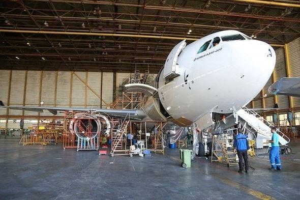 نخستین چک C ایرباس A330 هما انجام شد