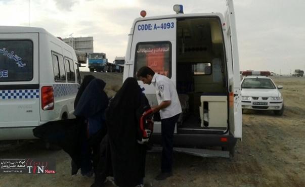 ۲ کشته و زخمی در تصادف جاده یاسوج به اصفهان