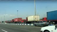 (فیلم) ترافیک اسکله بندر شهید رجایی؛ امروز
