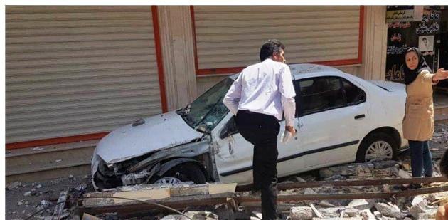 افزایش مصدومان زلزله خوزستان به ۶۴ نفر