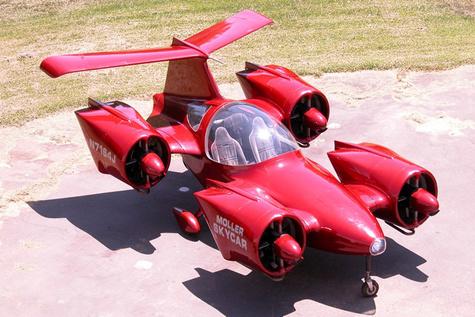 یکی از اولین ماشینهای پرندهی تاریخ به فروش میرود