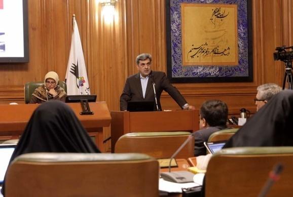 ارائه برنامه حناچی به شورای شهر تهران