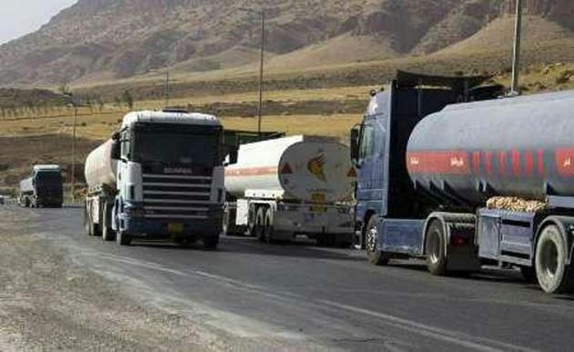 تردد تانکرهای سوخت در مسیر مریوان سنندج ممنوع شد