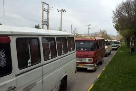 اجرای طرح برخورد با تخلفات ناوگان مسافربری عمومی در لرستان