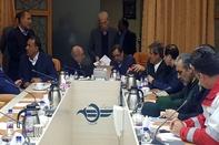 حضور آخوندی در جلسه اضطراری سازمان هواپیمایی