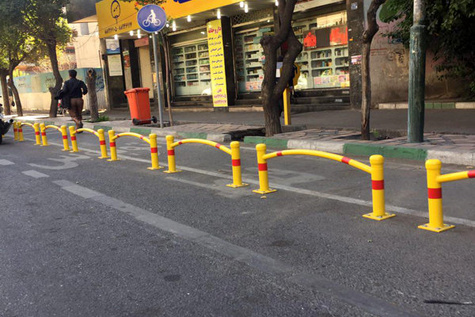 استقبال از ایجاد خطوط دوچرخه سواری در قلب پایتخت