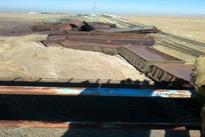 واژگونی قطار باری حامل سنگ آهن در نیشابور