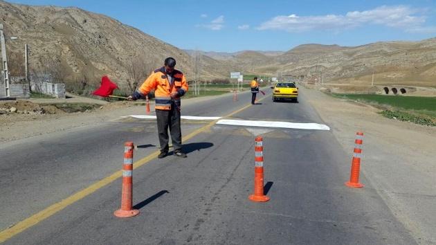 تیغ زنی در 380 کیلومتر از محورهای شهرستان گرمی انجام شد