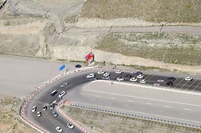 افزایش ۱.۲ درصدی تردد در جادههای کشور طی دیروز