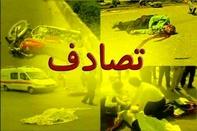 برخورد رخ به رخ خودروی پراید و تیبا در زنجان سه کشته و سه مصدوم برجا گذاشت