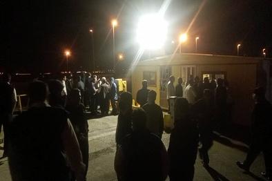 تجمع رانندگان فرودگاه امام در پی مرگ یک راننده