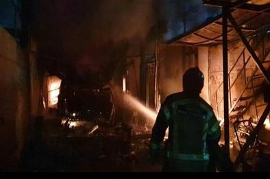 بیاحتیاطی؛ عامل آتشسوزی پارکینگ خودرو میدان بسیج زنجان