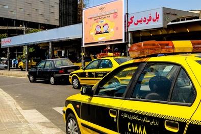 ثبت تخلف برای تاکسیرانان بدون ماسک در پایتخت