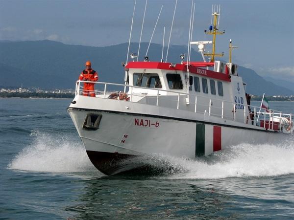 انجام ۸۲۵ مایل گشت دریایی توسط شناور امداد و نجات بندر نوشهر طی سهماهه تابستان