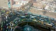 هرج و مرج رانندگی در خیابانهای تهران