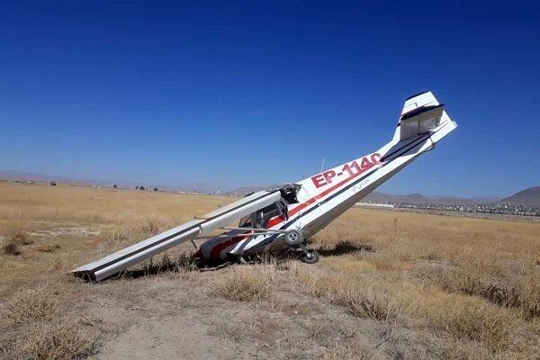 جزئیات سقوط هواپیمای آموزشی در شهرکرد