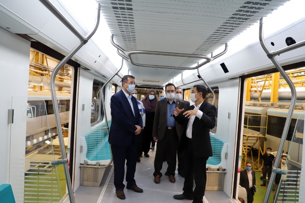 همکاری شهرداری و شرکت متروی تهران در پروژه قطار ملی