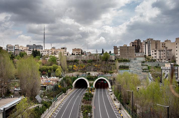 خیابانهای تهران خالی شد