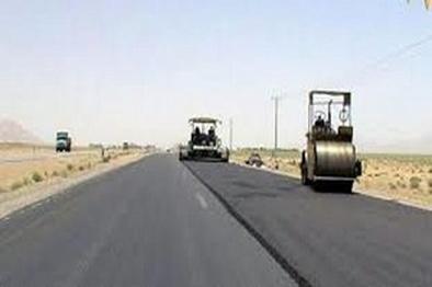 آغاز ۲ بانده کردن جاده چشمه علی - دیباج