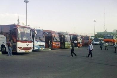 ۱۸۰ دستگاه اتوبوس برای انتقال زوار گیلانی در مرز مهران مستقر شدند